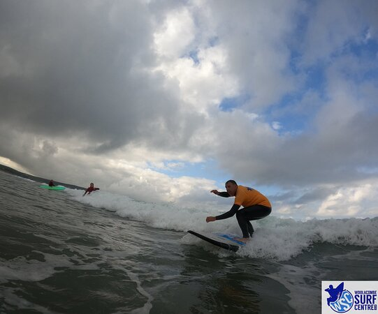 Surf Lesson: Looking a lot better