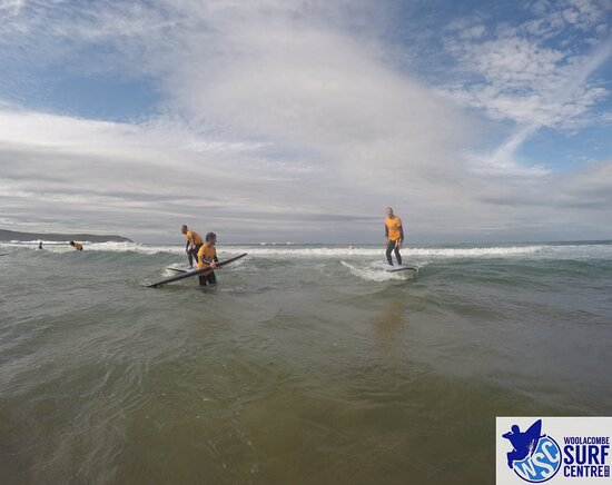 Surf Lesson: Look guys no hands