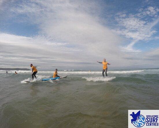 Surf Lesson: Oh crap losing my balance