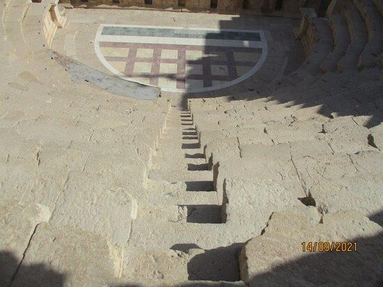 the steps to the seats