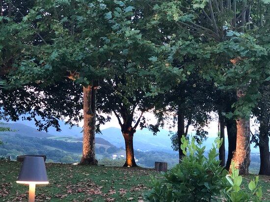 vue de la terrasse et du restaurant