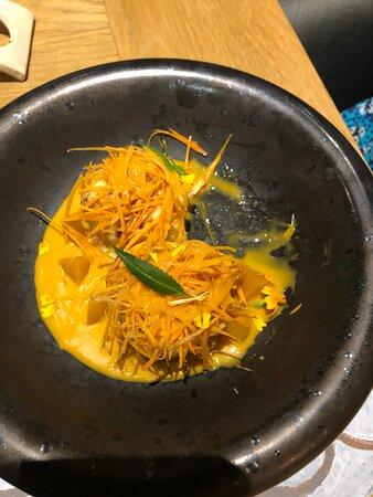 un dessert original avec de la carotte