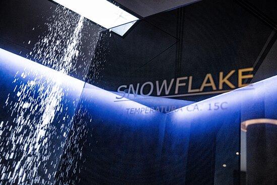 Snowflake cold cabin