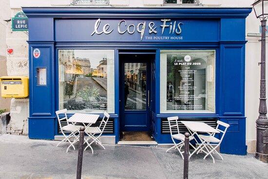 Le Coq & fils, the poultry house !
