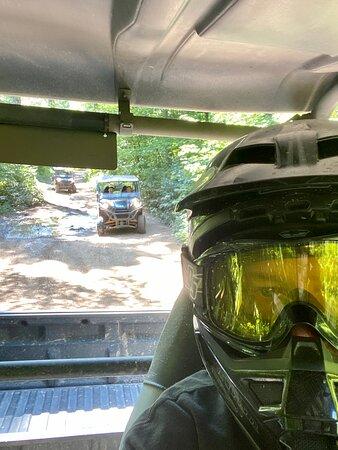 A fun guided ATV excursion