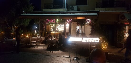 vue du restaurant depuis la terrasse exterieure