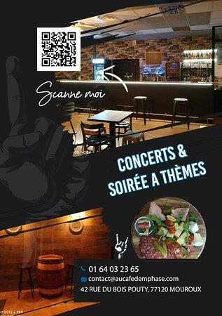 Mouroux, France: Ambiance, soirée à thème....