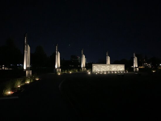 Veterans Memorial Park in Grand Forks, ND.