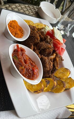 Abuja, Nigéria: Suya platter
