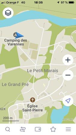 Murs-Erigne, France: plan