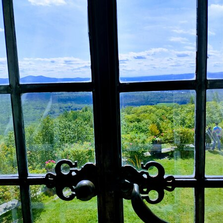 View from inside window