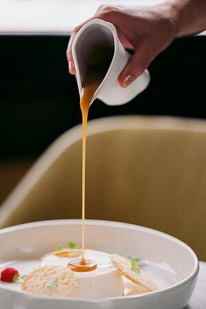Panna cotta au caramel de beurre salé