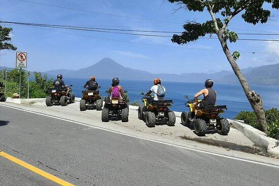Tour du lac Atitlan en VTT