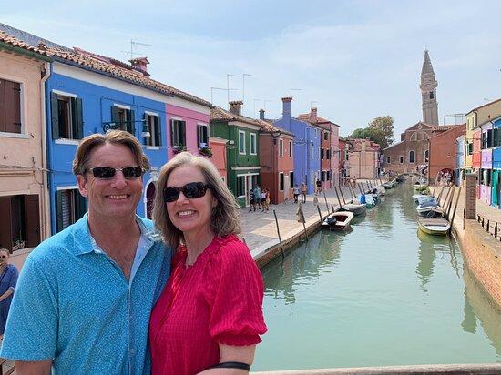 Private Hidden Venice & Grand Canal Boat Tour + Murano Glassblowing: Burano