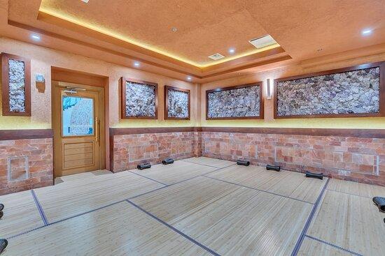 Amethyst Crystal + Salt Room
