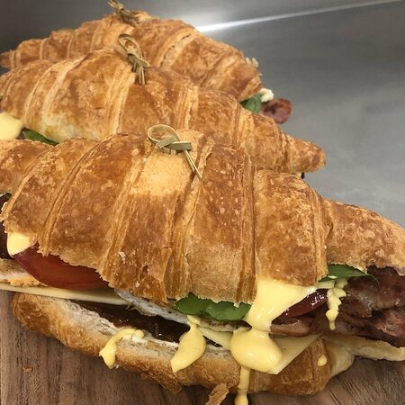 Our famous Breakfast Croissant
