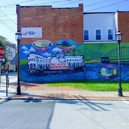 Elizabeth, PA: Mural