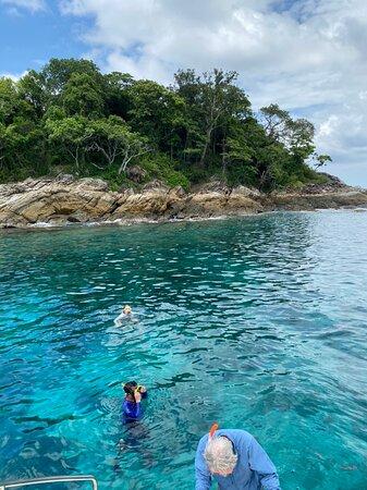 Full-Day Coral & Racha Islands Catamaran Yacht Tour w/ Sea Kayaking & Snorkeling: Racha Island