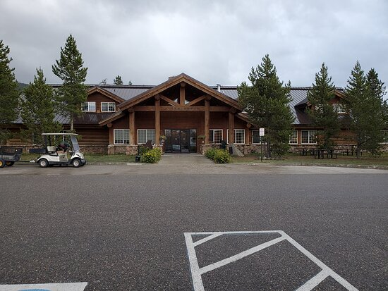 Exterior of the Lodge