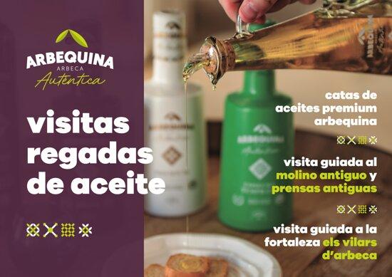 Arbeca, España: Visitas Regadas de Aceite. Actividad cultural y gastronómica