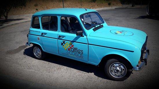 Portugal: Viatura de apoio / serviço rápido Waffles e Coisas... See you on the road!!!