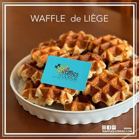Portugal: Este é o Waffle de Liège.