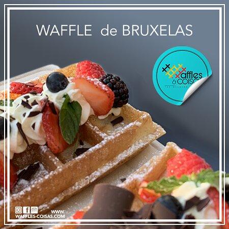 Portugal: Este é o Waffle de Bruxelas
