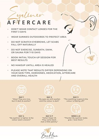 Lydenburg, South Africa: Permanent Make Up Aftercare