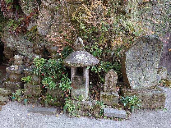 Osako Cliff-carved Budda Statue