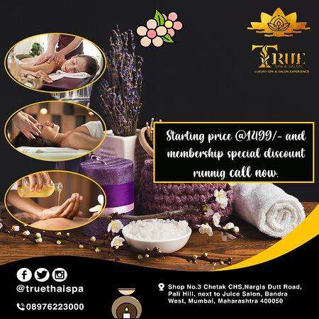 True Spa and Salon - (Spa In Bandra West)