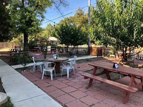Cibolo, เท็กซัส: Outdoor Seating