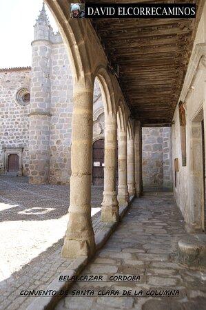 Belalcazar, Spain: porche del convento