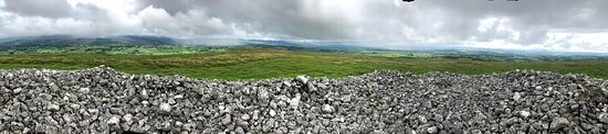 County Sligo, Ireland: Pano from atop one of the cairns