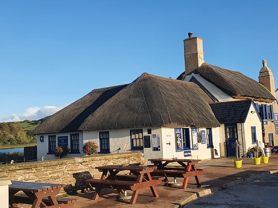 The Start Bay Inn at Torcross. We stayed at Torcross with two friends and dined at the Start Bay Inn for three consecutive nights. The food is delicious with great portions. Highly recommended the seafood or crab salad, amazing. Special thanks to Vince and Jack for superb customer service, nothing was too much trouble. Thank you