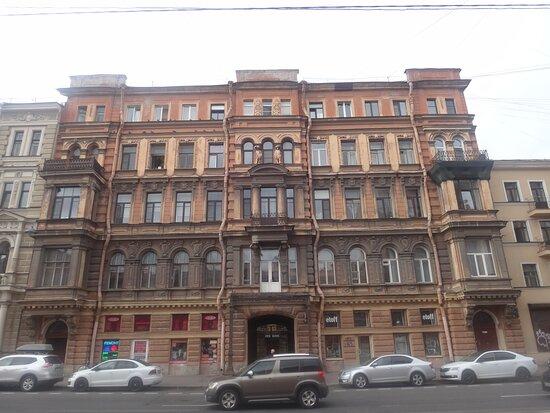 Profitable house S.P. Petrov