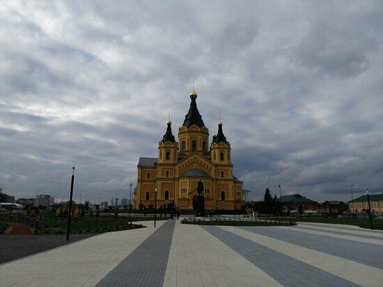 Monument to Prince Alexander Nevsky