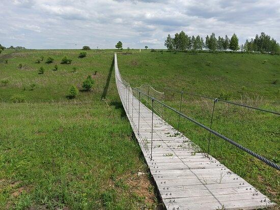 Lipetsk Oblast, Russia: Мостик
