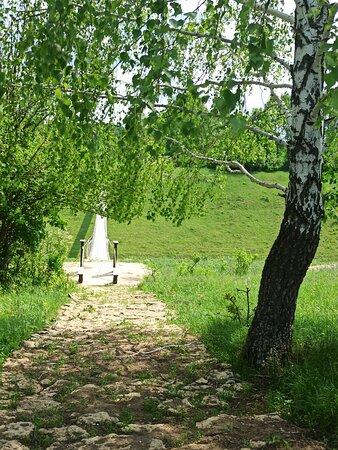 Lipetsk Oblast, Russia: Дорога в парке