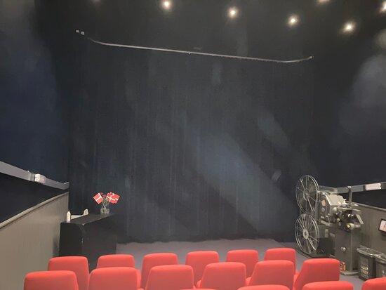 Northborg, Denmark: Nordborg Bio Superhyggelig biograf med god lyd og drevet af frivillige