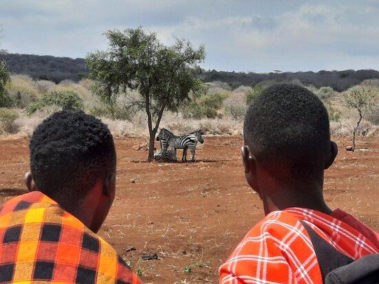 Kimana, كينيا: great guides! :-)