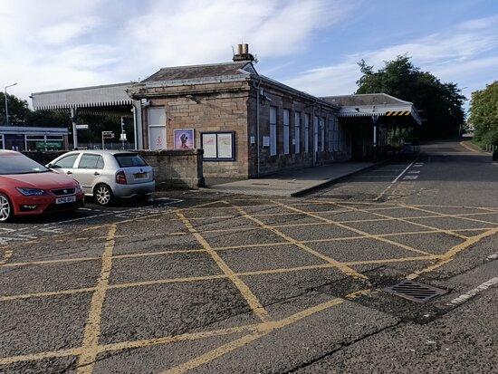 Dunfermline Railway Station