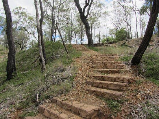 Monto, Australia: Steps to Shamrock Mine