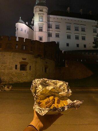 Ночная поездка по Кракову