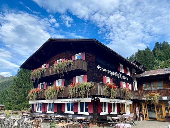 Silbertal, Áustria: Wunderschönes Haupthaus