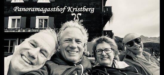 Silbertal, Áustria: Unsere voll aufgetankte, aufgeladene Truppe