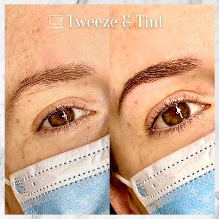 Maynard, MA: Don't underestimate the power of a good old-fashioned Tweeze & Tint!   Booking: https://www.pureskinpermanentcosmetics.com/book-onlin