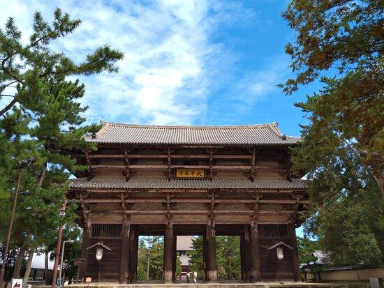 Todai-ji Temple Nandai Gate