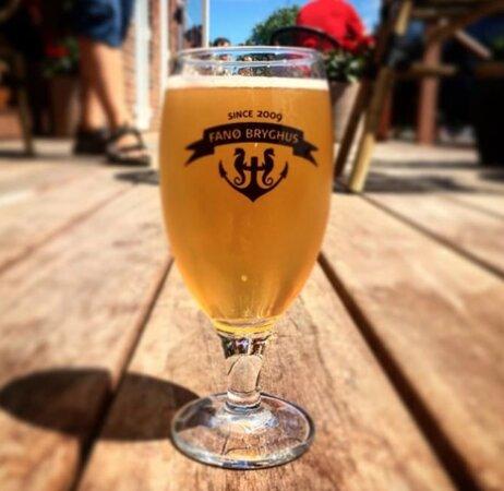 Fanoe, Denmark: Altid en god øl på Fanø Bryghus