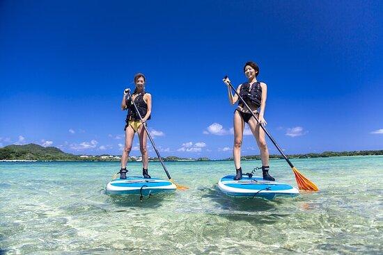 [Ishigaki]SUP/Canoe tour at Kabira Bay+ Snorkeling Tour at Phantom...