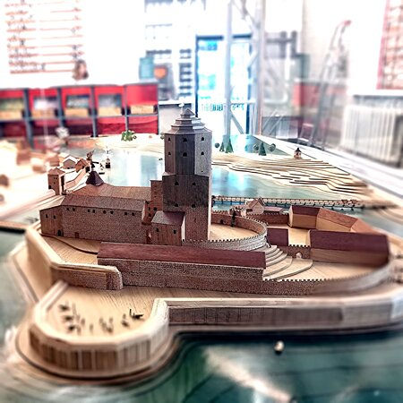 Model of the Medieval Vyborg